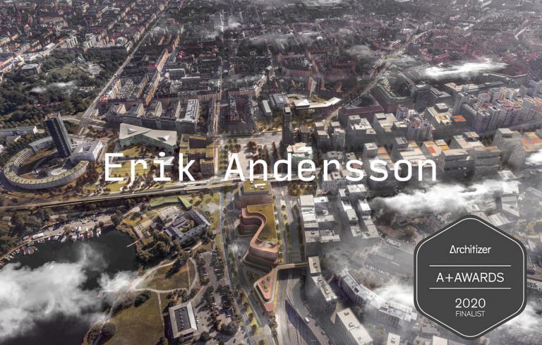 Site de portfólio de Erik Andersson