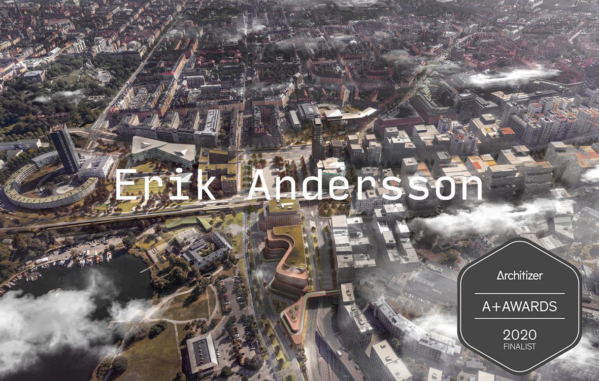 Web milik arsitek Erik Andersson
