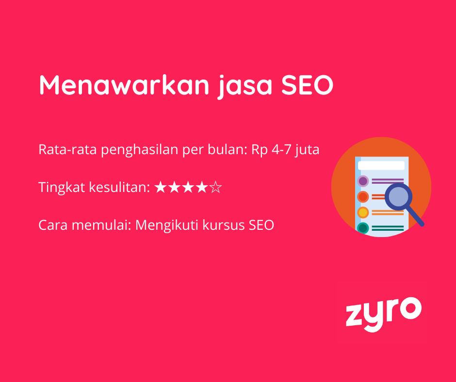Ide bisnis online jasa SEO