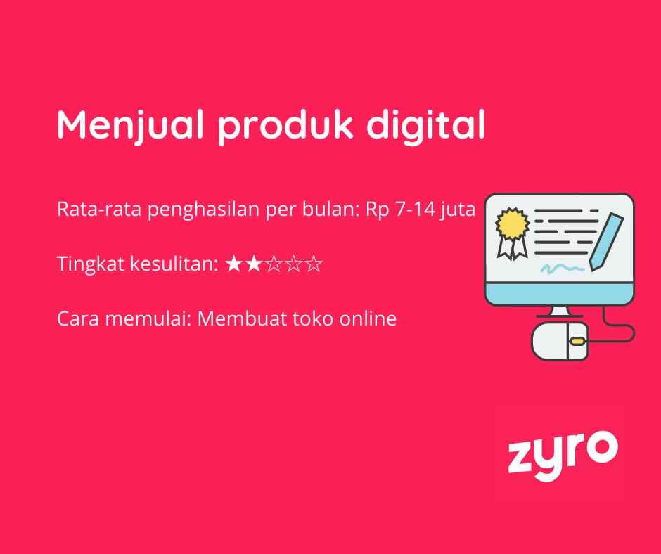 Ide bisnis online produk digital
