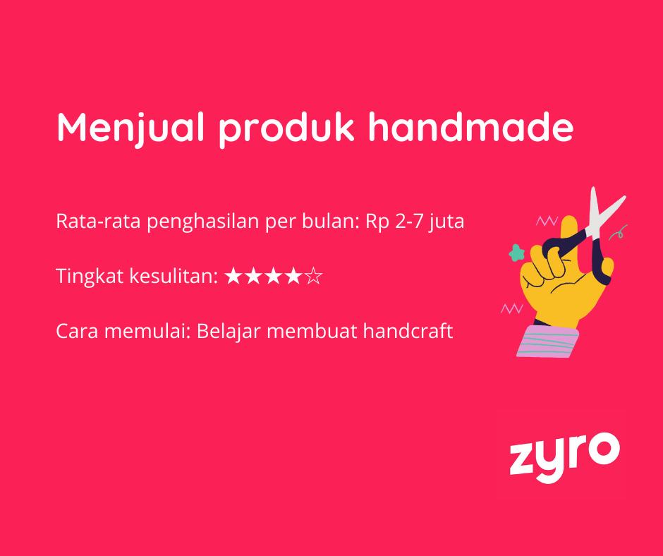 Ide bisnis online produk handmade