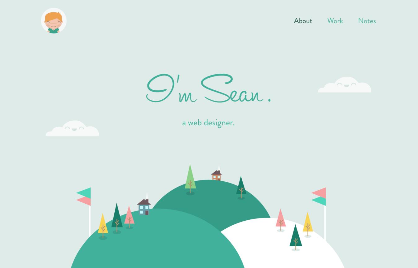 Sean Halpin portfolio website