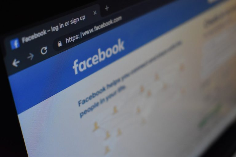 Facebook startpagina