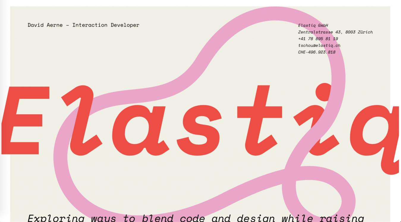 Homepage Elastiq