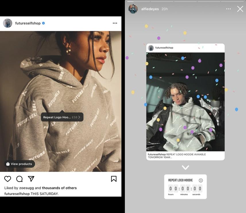 qué publicar en Instagram: cuenta regresiva