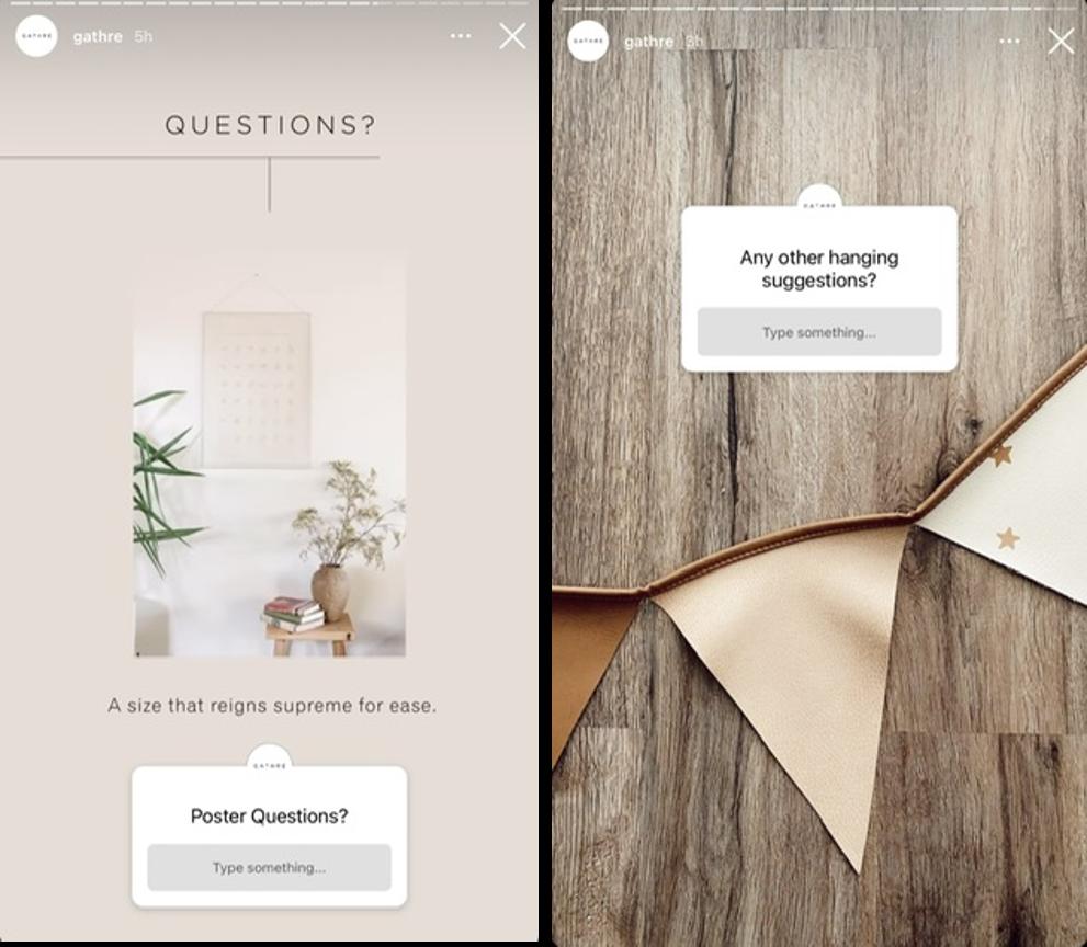 qué publicar en Instagram: cuadro de preguntas