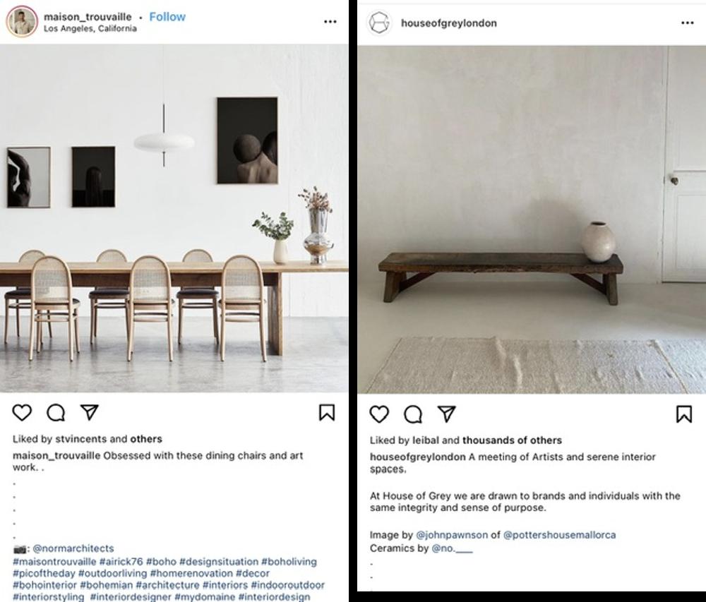 Capturas de pantalla de republicación de Instagram