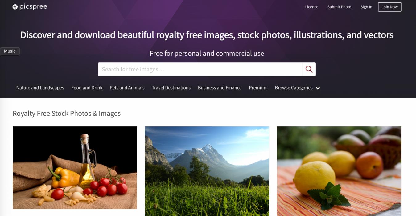 Picspree gratis stockfoto's
