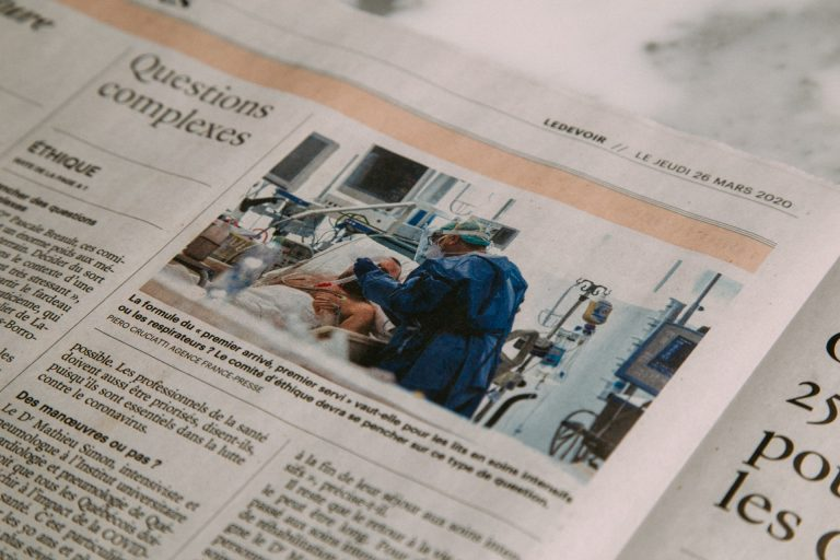 reportagem em jornal francês