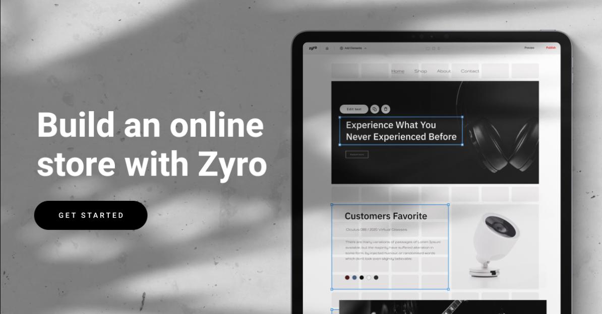 Crie Sua Loja Virtual com o Zyro