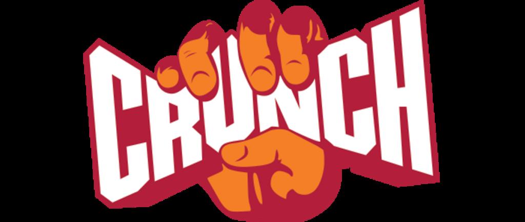 Crunch Fitness logo ontwerp