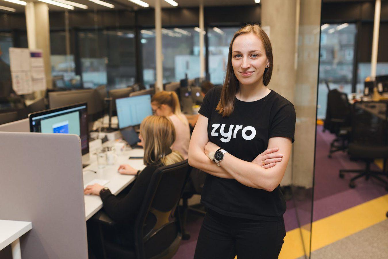 Greta Zyro Shirt Feature