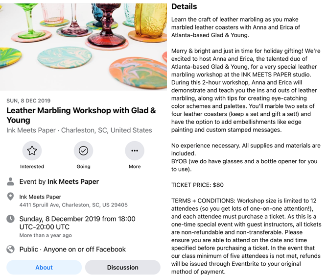 Ink Meets Paper Facebook-Seite