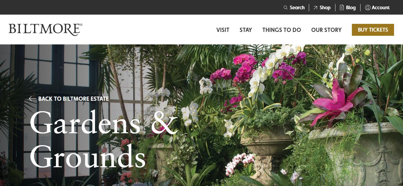 Biltmore Gardens page