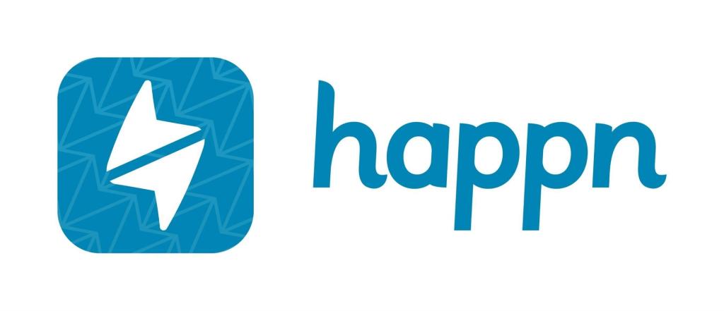 Desain logo Happn