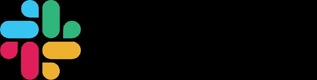 Contoh logo Slack