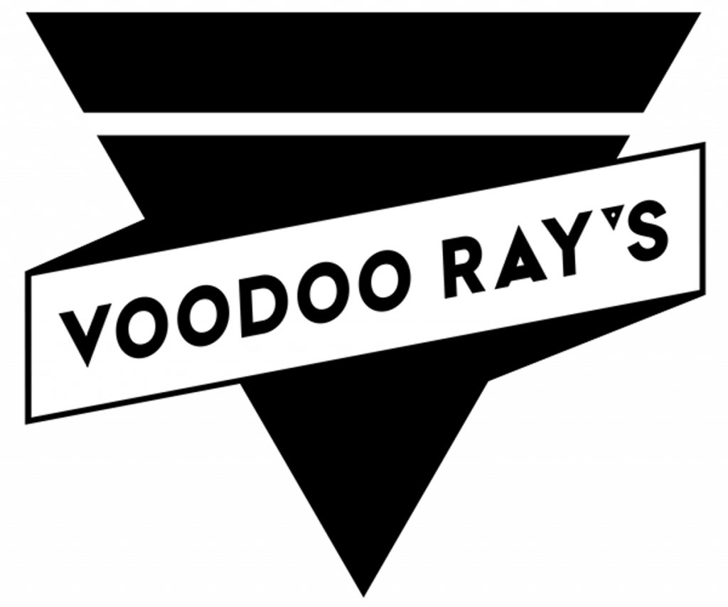 Voodoo Ray's logo ontwerp