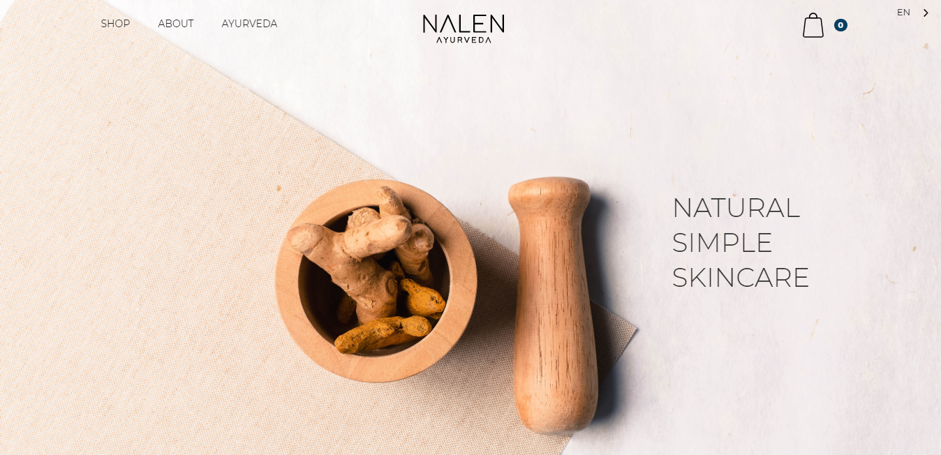 Website Nalen Ayurveda