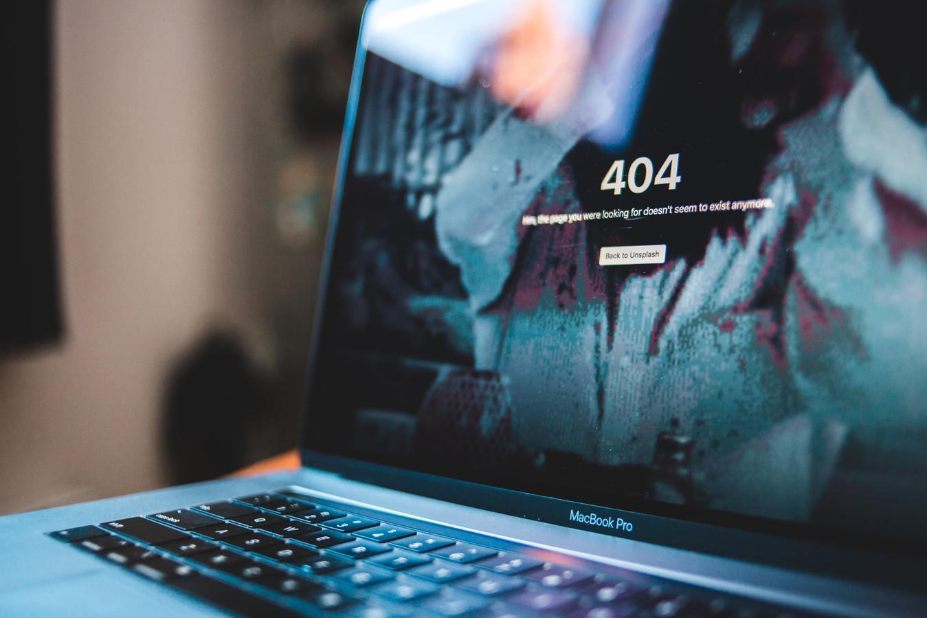 tốc độ load web 404 error