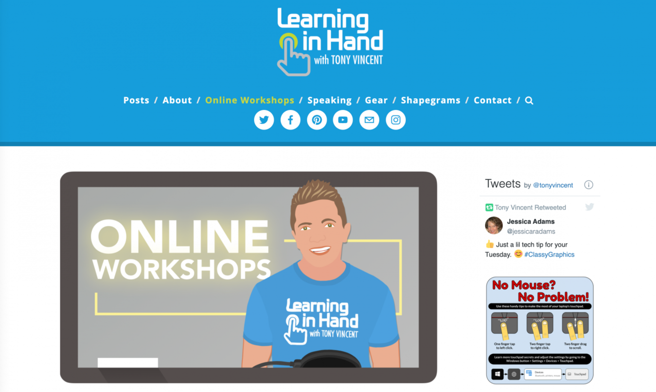 Learning-in-hand-teacher-website-examples