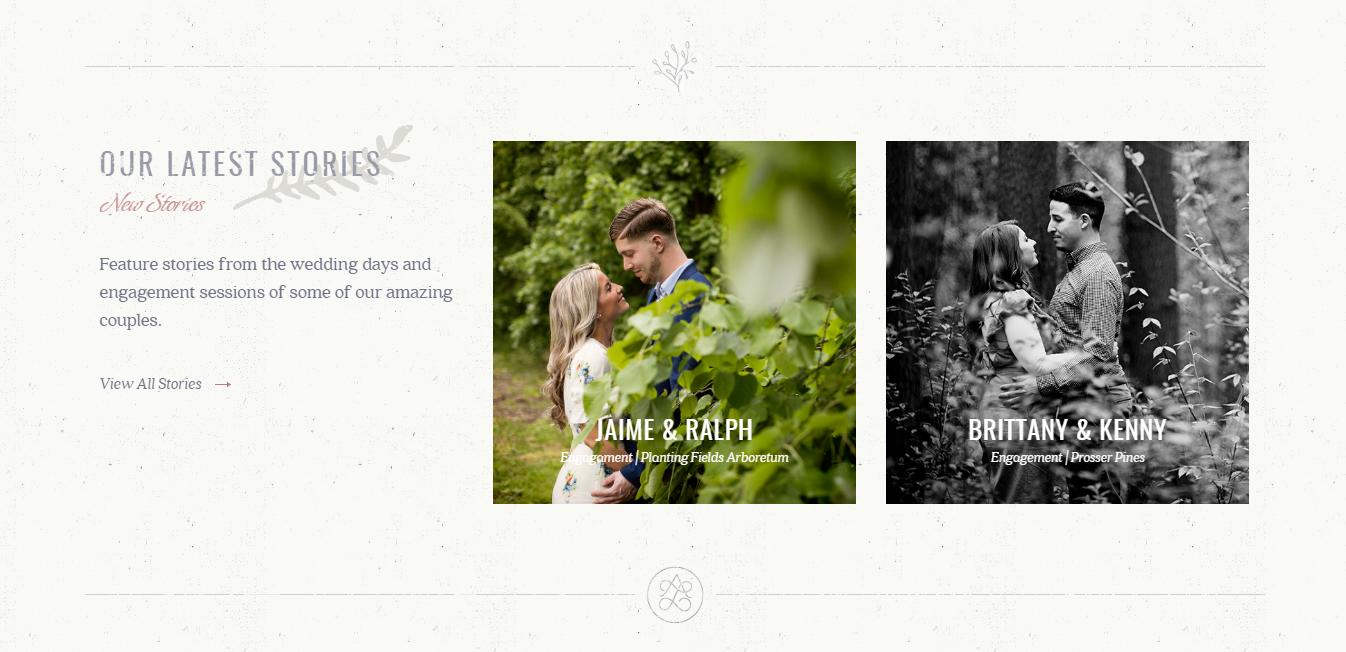 Anchor en Lace bruiloft fotografie portfolio
