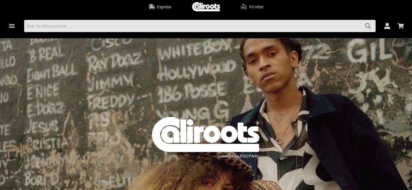site web de caliroots
