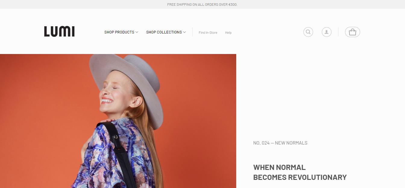 lumi accessories website