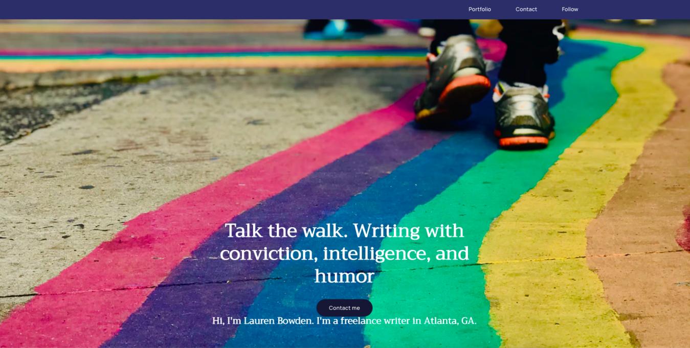 Lauren Bowden Homepage