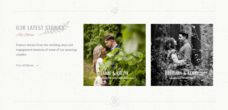 Portfólio de fotografia de casamento Anchor and Lace