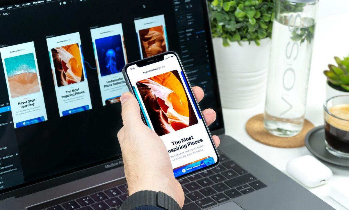 Site otimizado para dispositivos móveis