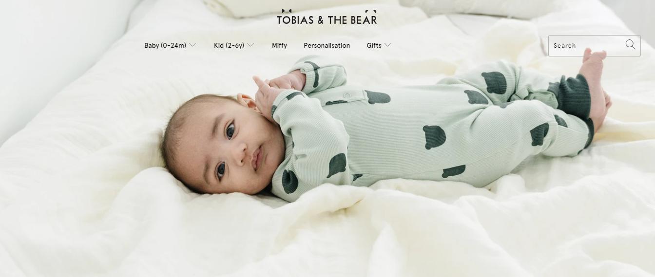 Sito web Tobias & the Bear