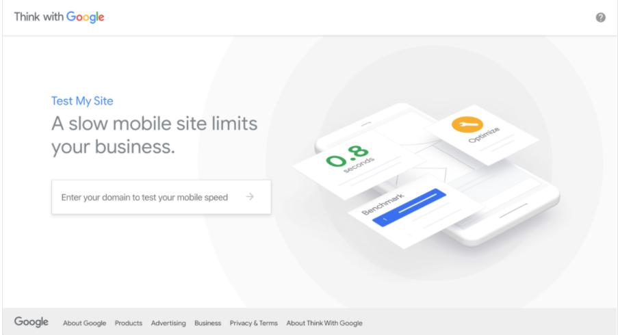 Test My Site: uno strumento per migliorare la velocità del sito web