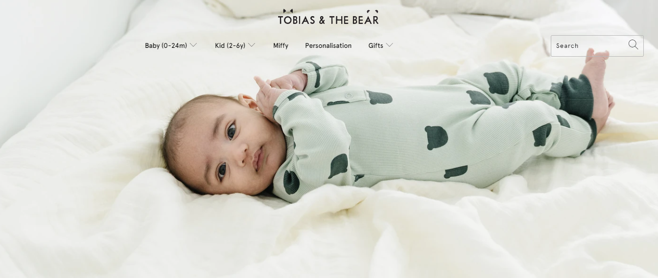 Tobias and the Bear