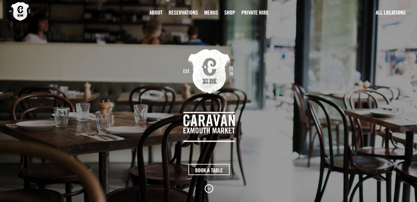 Homepage di Caravan Exmouth