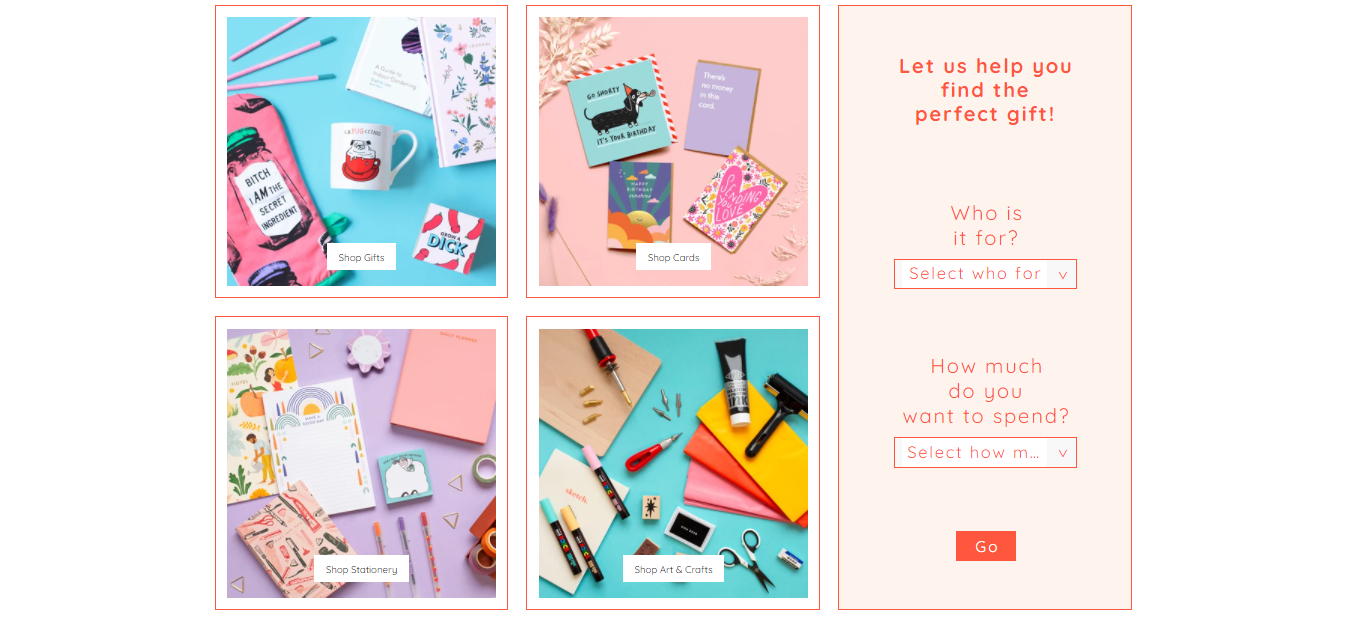 Ohh Deer website featured products