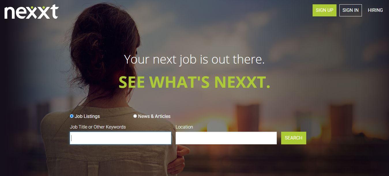 Pagina di ricerca di Nexxt