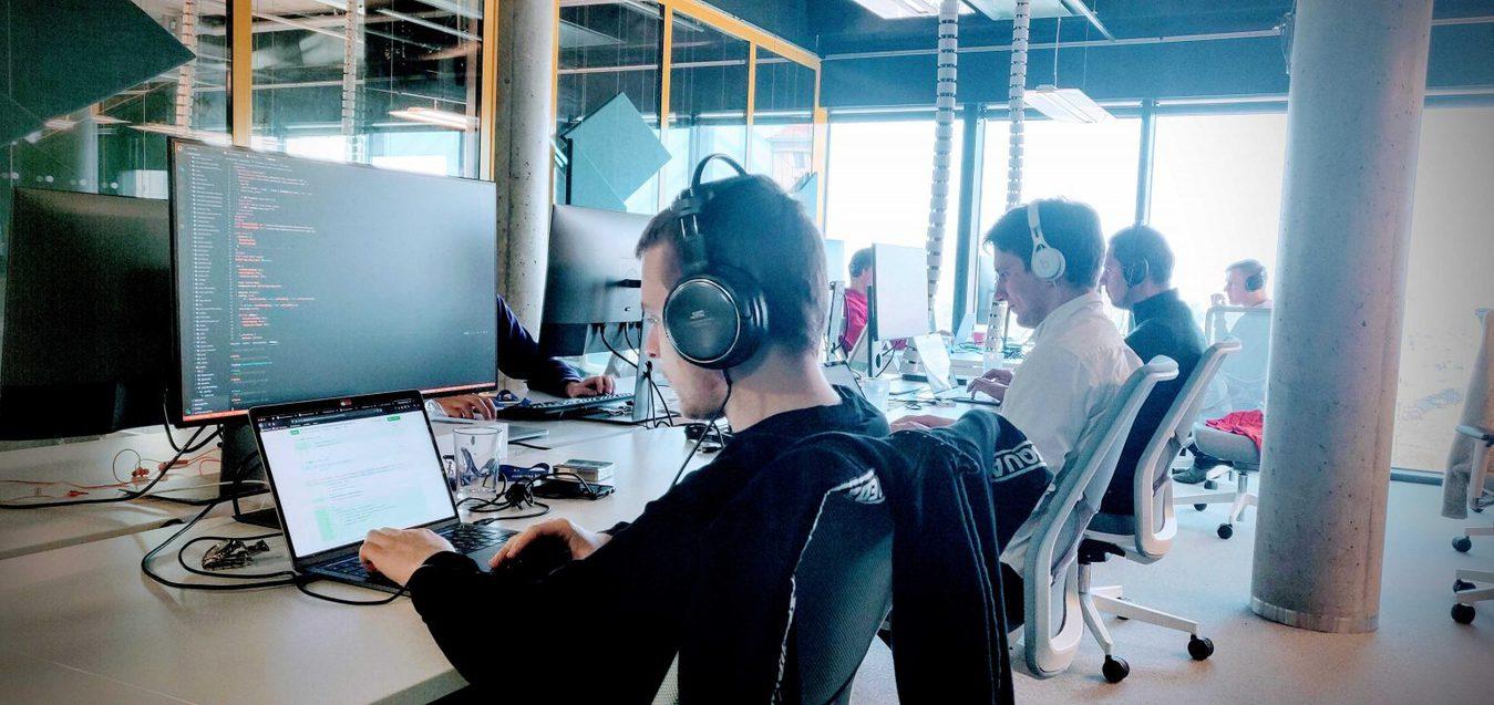 Zyro coders working