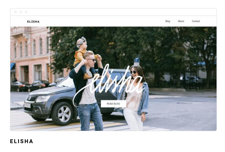 Strona internetowa Elisha