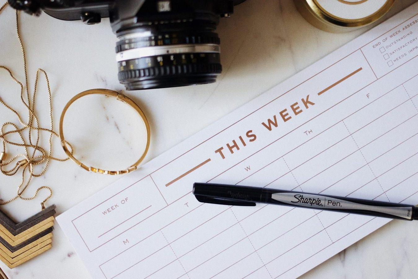 lege week planner