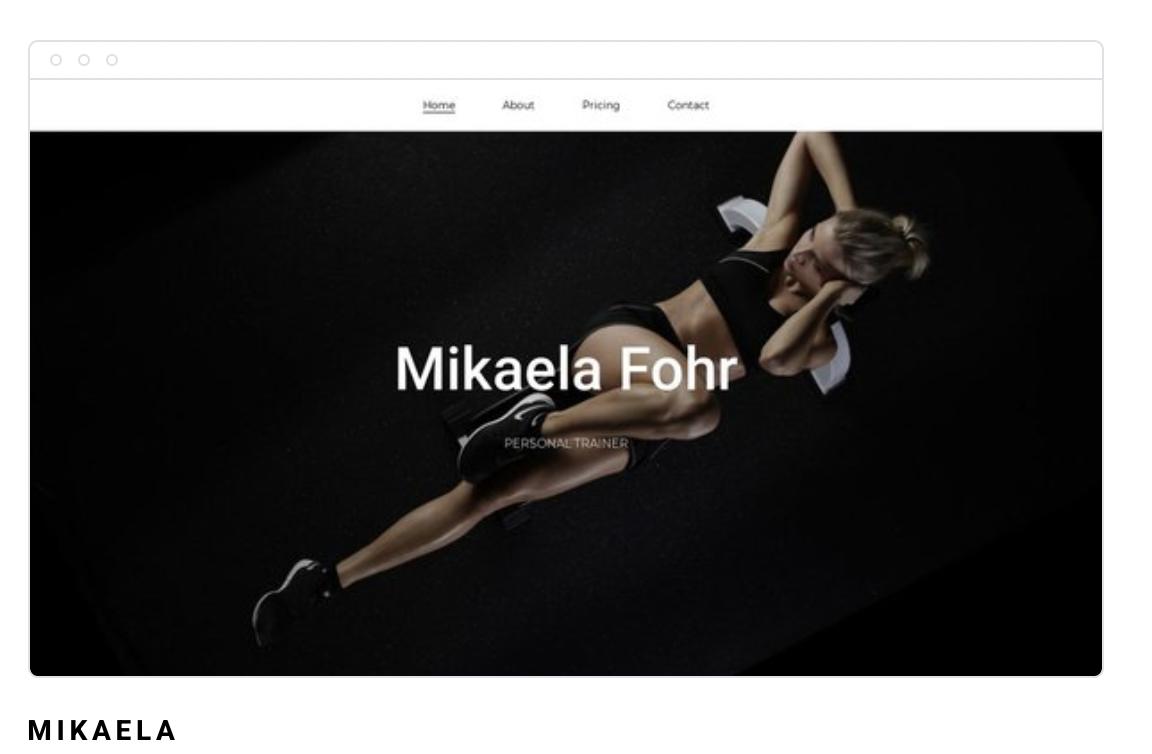 Strona internetowa Mikaela