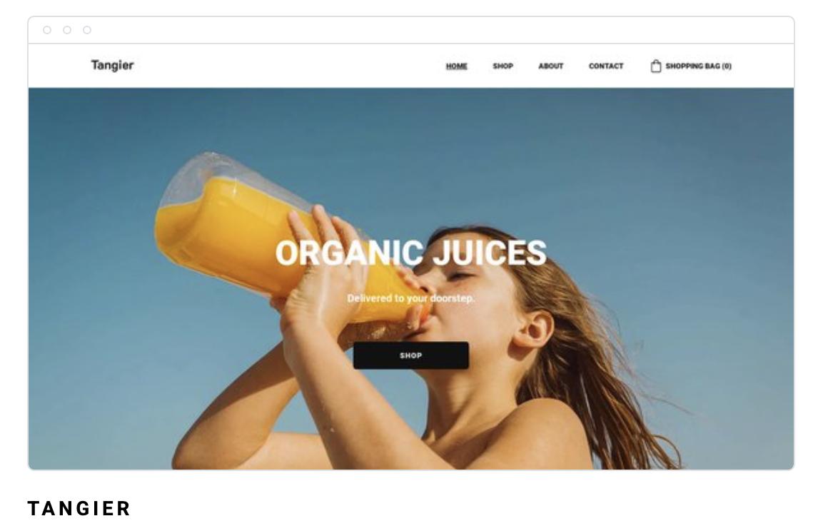 Strona internetowa Tangier
