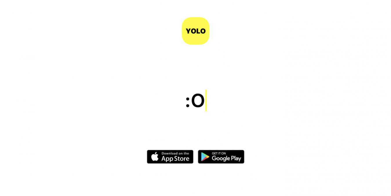 Yolo landing page