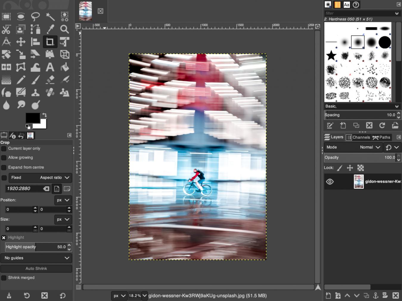 phần mềm chỉnh ảnh online GIMP