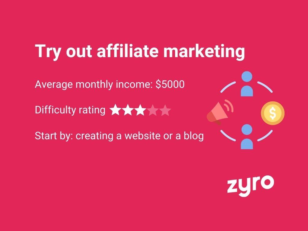 Infografica affiliate marketing