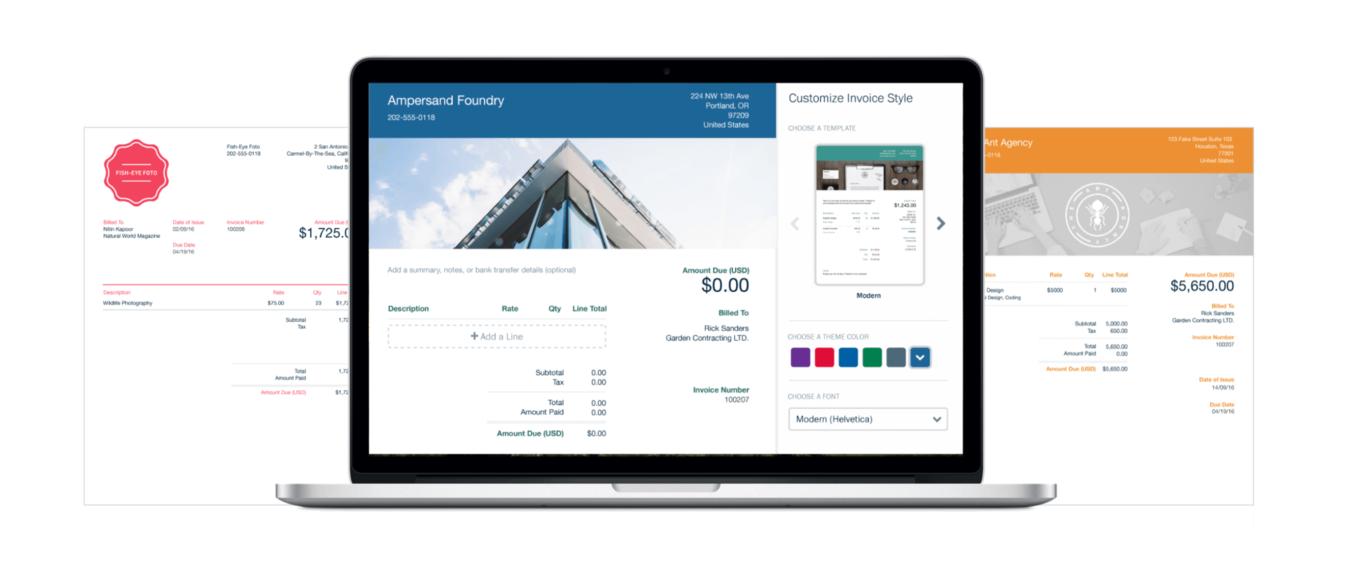 Aplikasi untuk bisnis Freshbooks