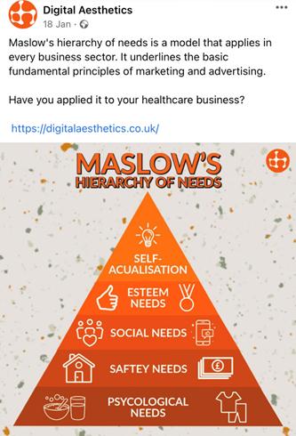 cách đăng bài facebook hiệu quả của Digital Aesthetics