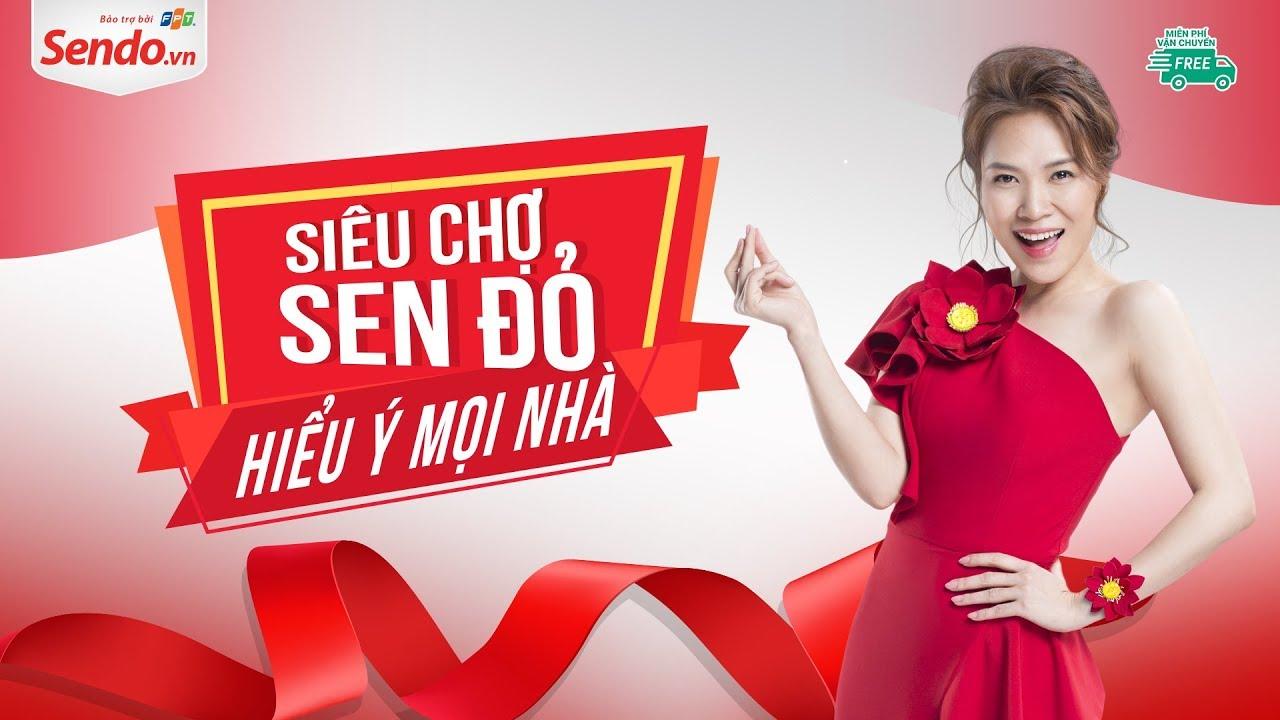 quảng cáo trên trang bán hàng sendo