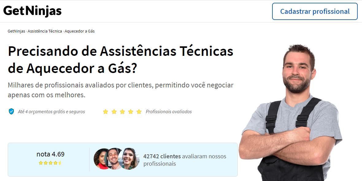 Site de freelancer GetNinjas