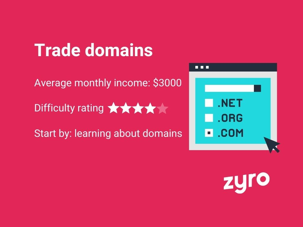Trade domains infographic