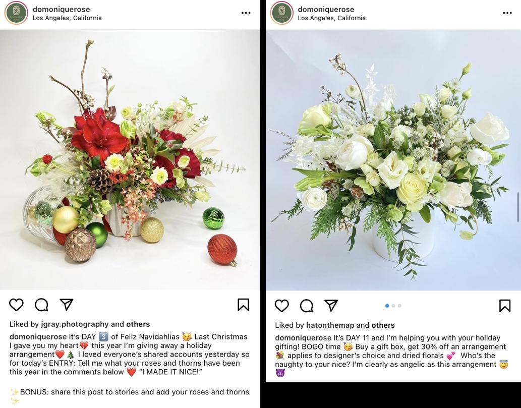 Exemplo de postagem sobre datas comemorativas no Instagram